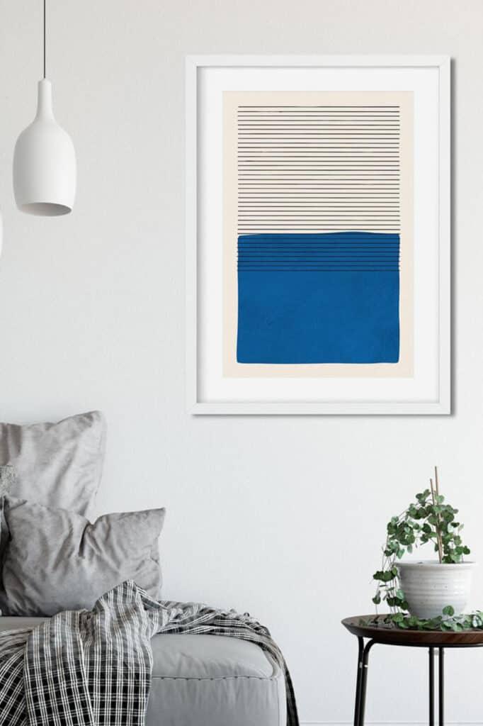 8_INTERIER_TRENDI_Z umetniskim delom v modri barvi ne morete zgresiti